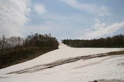 まだスキーの出来るコース