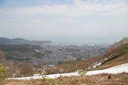 山頂からの景色 ALIGN=