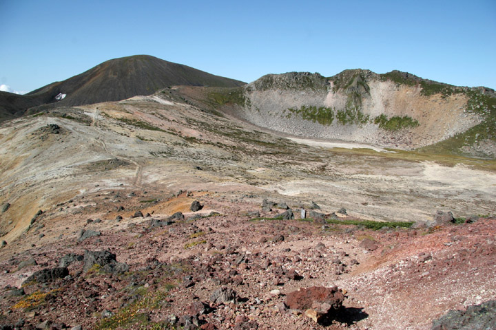 熊ヶ岳と旭岳