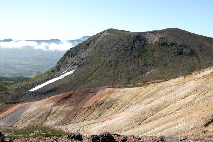 後旭岳とトムラウシ