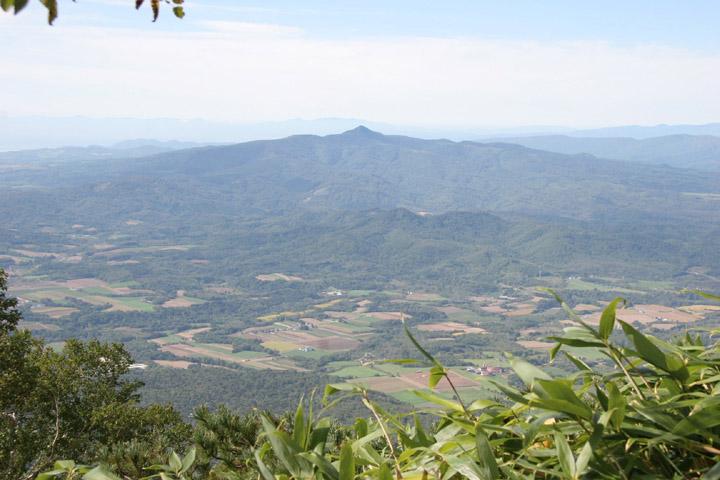 コンブちゃんと登った昆布岳です