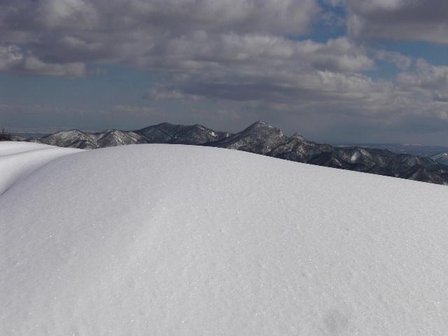 烏帽子岳と神威岳